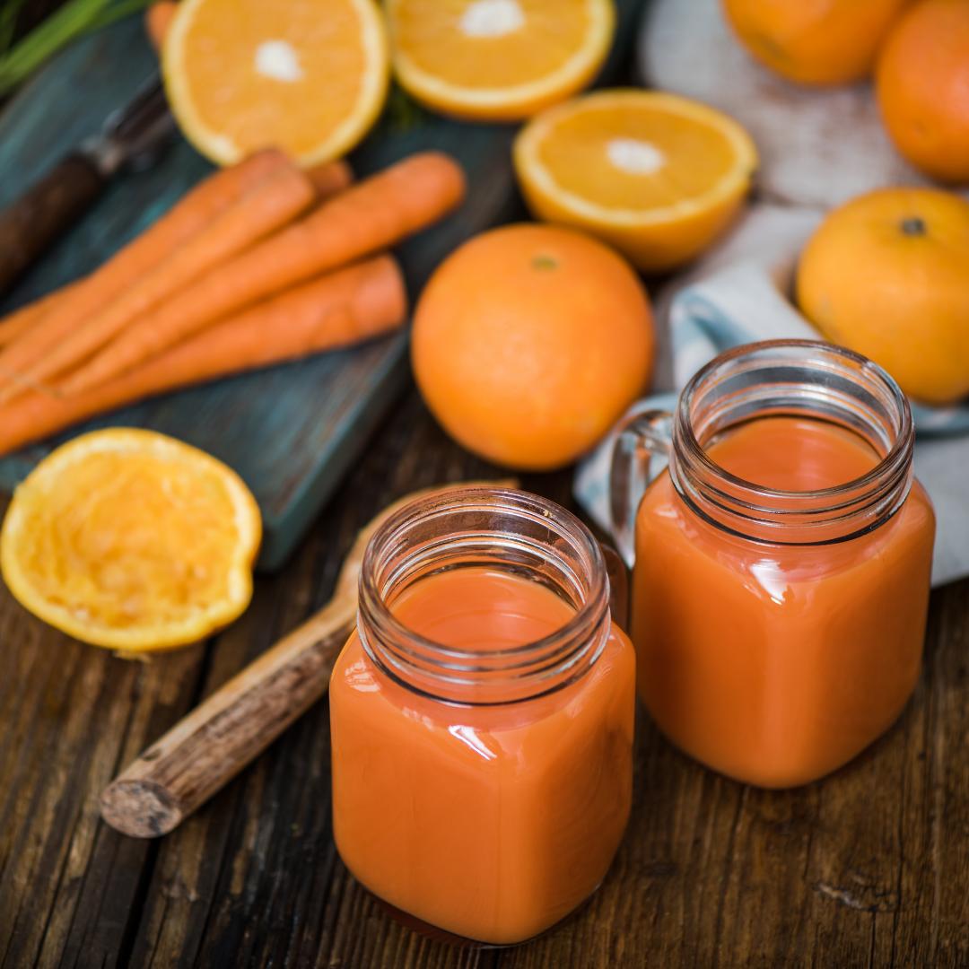 Narancs sárgarépa ital