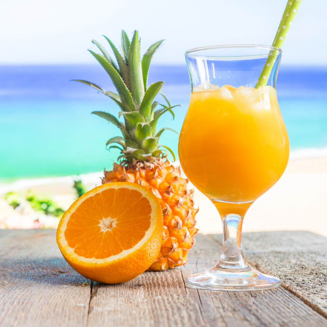 Ananàsz narancs ital