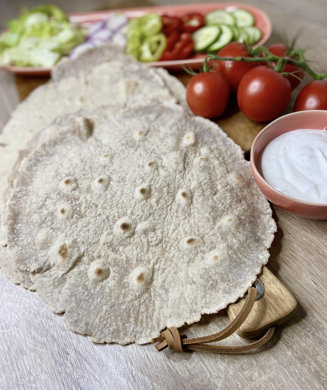 Gluténmentes tortilla