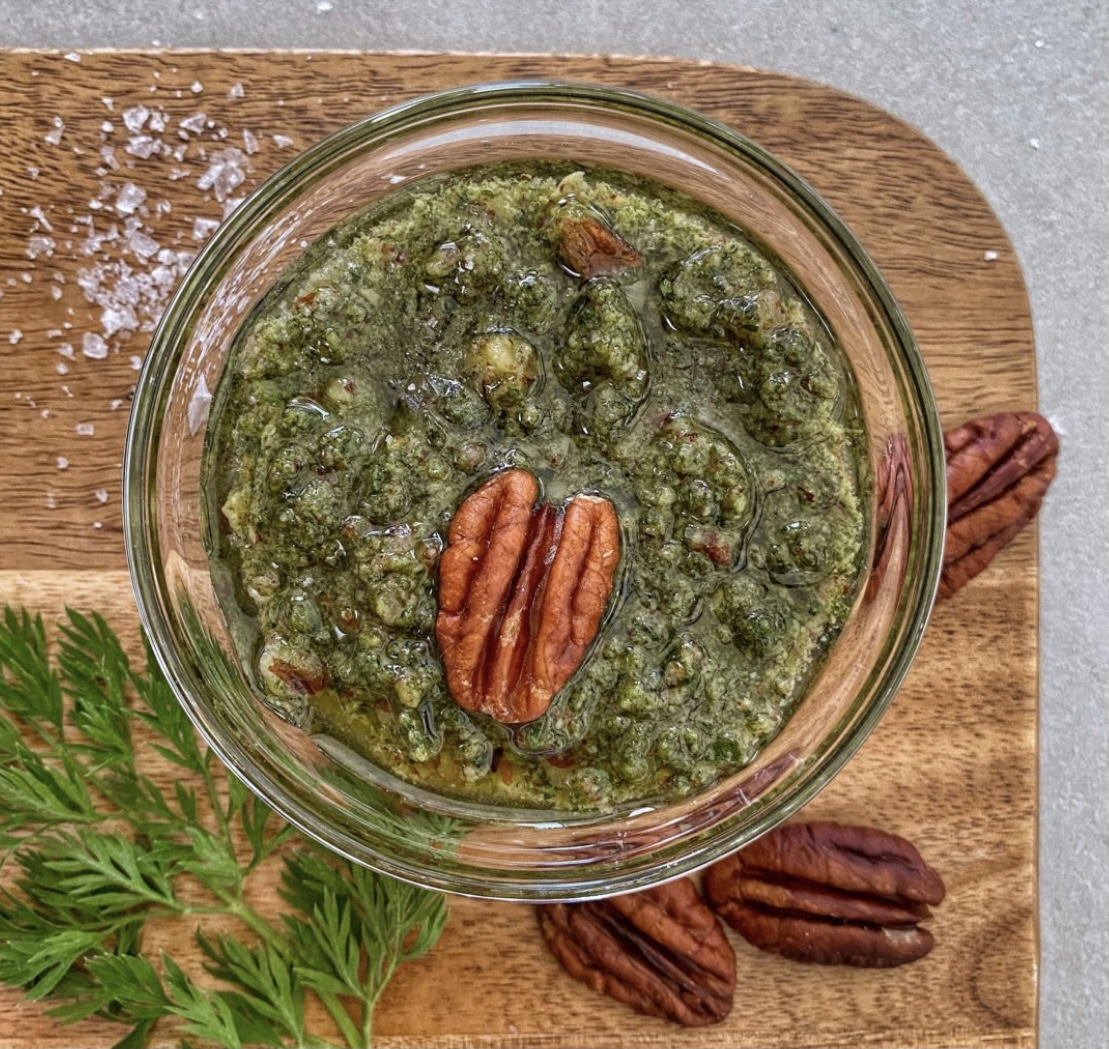Pesto Sárgarépa Zöldből