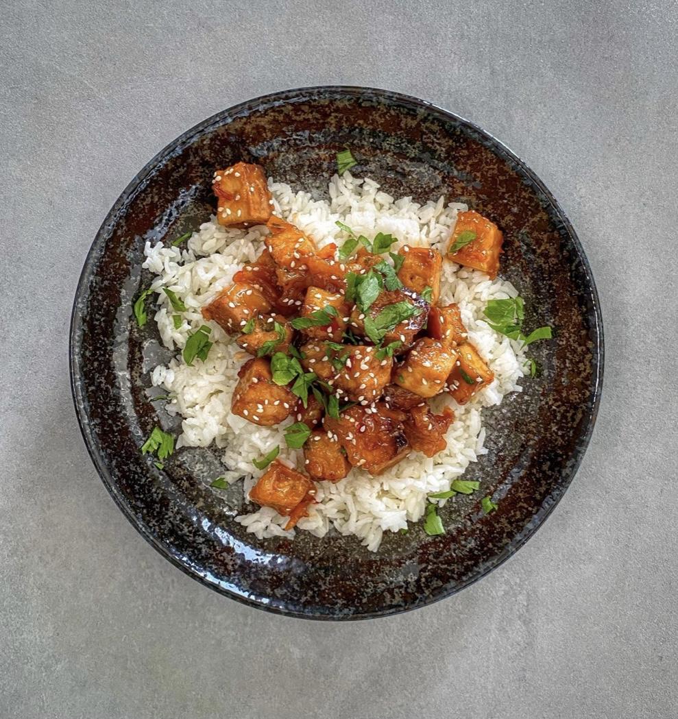 Mogyoróvajas Tofu