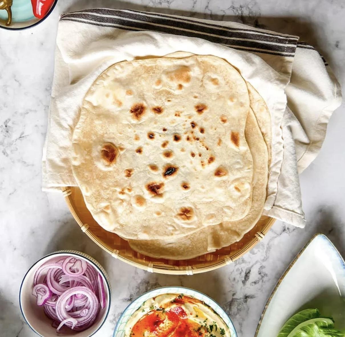 Puha tortilla lap recept