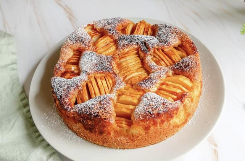 Puha almás süti recept