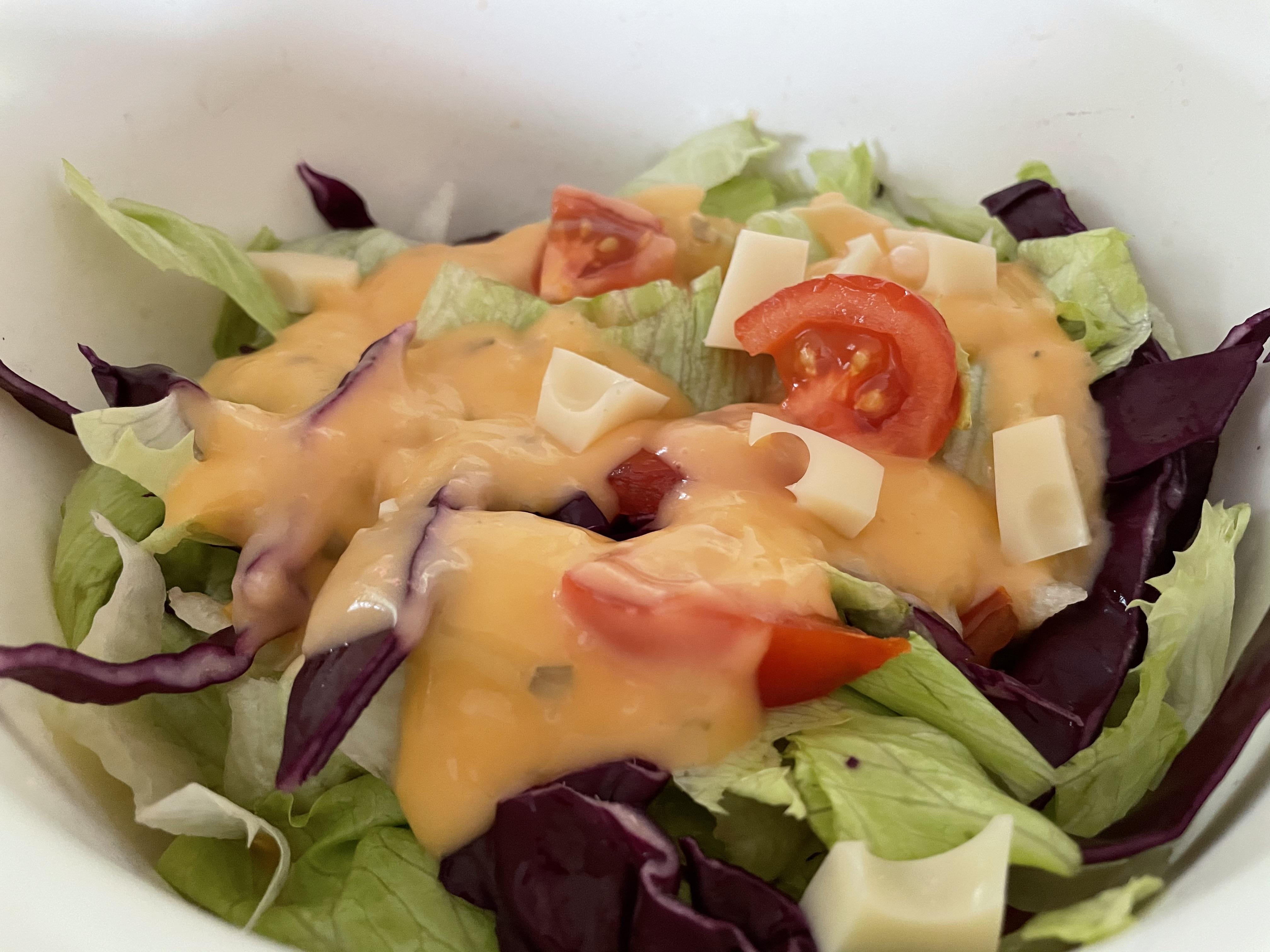 Könnyű vegyes saláta