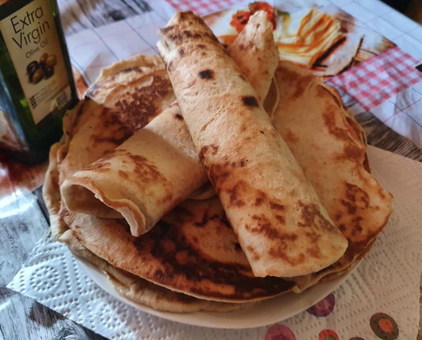 Ch csökkentett Tortilla recept